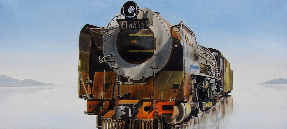 Trains Fine Art by Paul Treleven